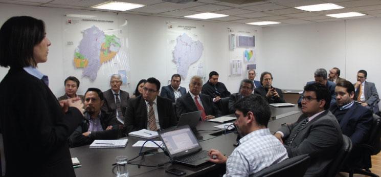 Intercambio de experiencias y conocimientos entre México y Ecuador