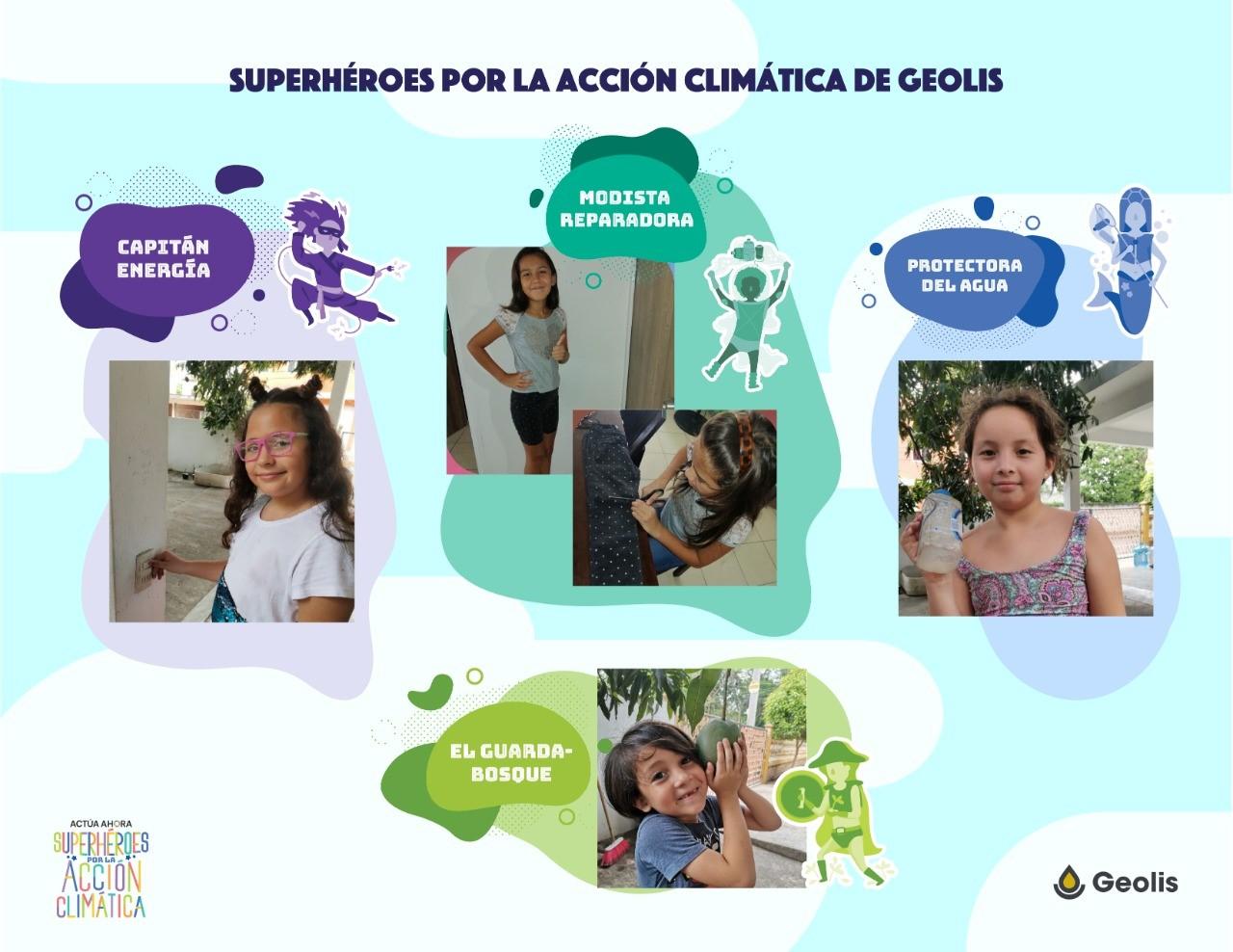 Geolis empodera a los niños para proteger al planeta con la iniciativa #Actuaahora de la ONU