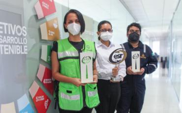 Geolis tres años galardonada como Empresa Socialmente Responsable